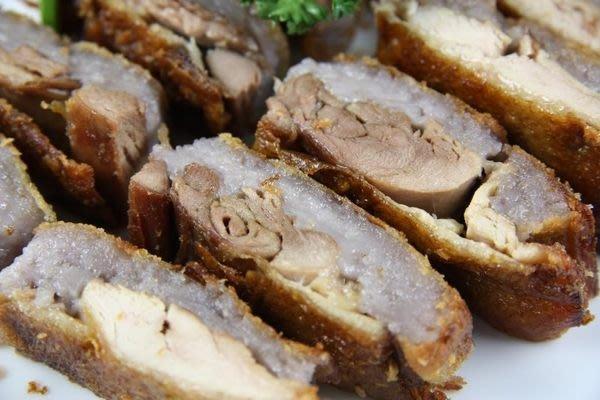 【年菜系列】香酥芋頭鴨~老師傅的手路菜~要再有機會吃到這一道菜~難阿!