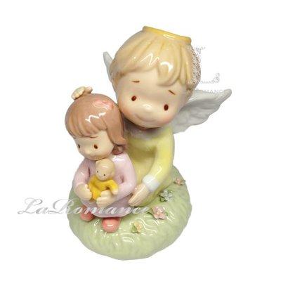 【芮洛蔓 La Romance】 Cosmos Gifts 天使與女孩擺飾 / 童趣擺飾 / 兒童節 / 生日禮物