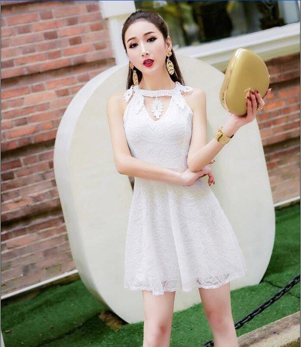 (現貨白)潘朵拉衣閣c129新款韓版時尚氣質v領造型收腰顯瘦洋裝連身裙宴會尾牙春酒小禮服