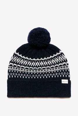 MISHIANA 英國品牌 JACK WILLS BUXTON POM POM KNIT FAIRISLE HAT
