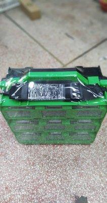 附發票*東北五金*正OPT 工具箱 收納盒 工作箱 螺絲盒 18PC 零件盒 手提工具盒 內附隔板! BOX-399