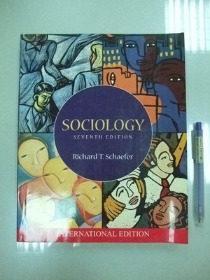 6980銤:A0-5cd☆2001年出版『Sociology 7/e』 Richard《MC Graw Hill》