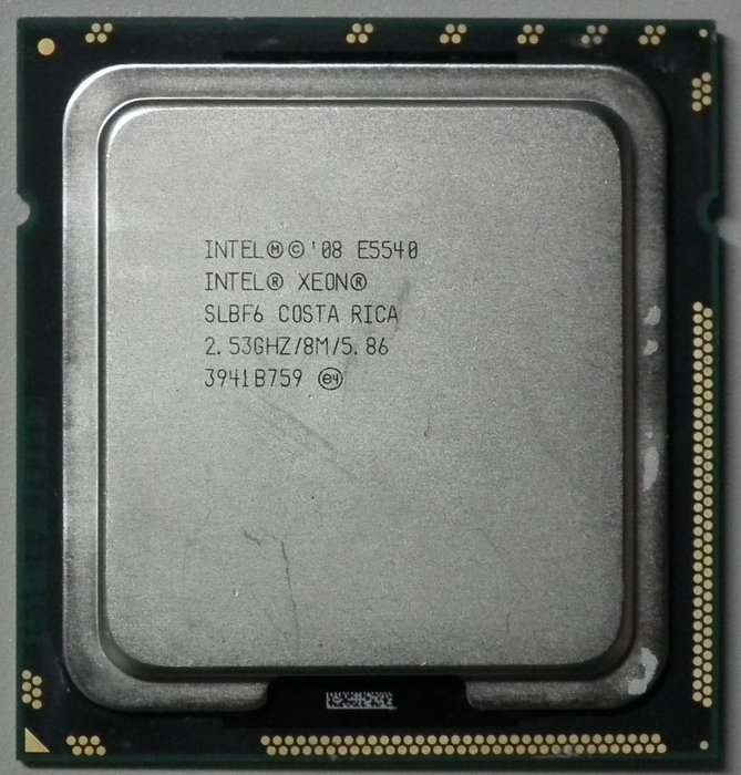 E5540正式版x58 4核心intel cpu 1366四核心XEON(I7-920 940 L5520 E5530