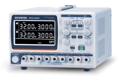 TECPEL 泰菱電子》固緯 GWInstek GPE-4323 多通道直流電源供應器 4CH 0 ~ 32V/ 0~3