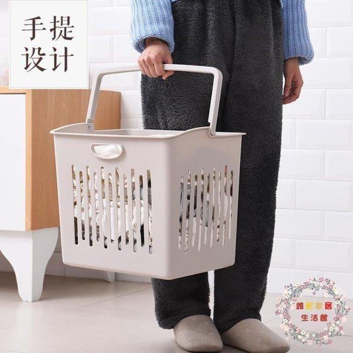 YEAHSHOP 交換禮物髒衣籃髒衣服收納筐塑Y185