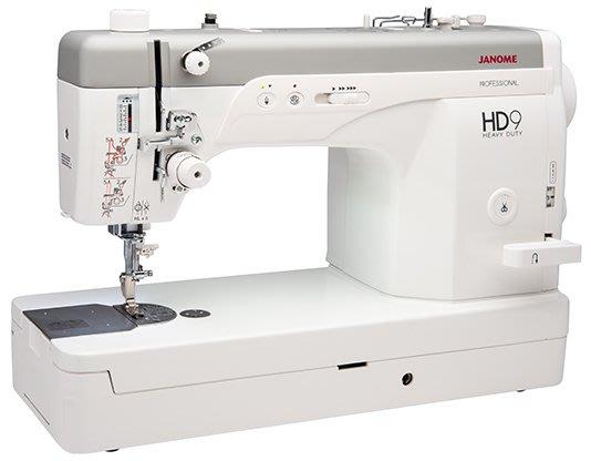 【優質服務品質保證】車樂美 JANOME HD9 縫紉機  送落地桌 全新公司貨 可議價『請看關於我,來電享有勁爆價』