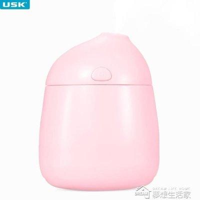 迷你usb加濕器家用靜音臥室空氣辦公桌面小型嬰兒便攜式車載