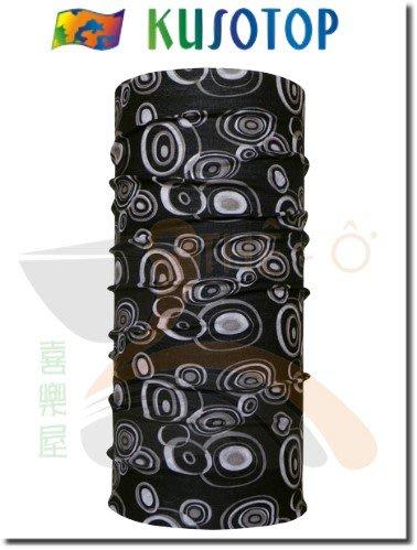KUSOTOP 原創系列 運動魔術頭巾 吸濕快乾 抗UV 柔軟 透氣 8 台灣製造 喜樂屋戶外休閒