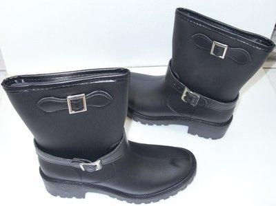 台興牌TS103 時尚防水女雨靴 100%台灣製造 雨鞋 加厚舒適鞋墊 護腳車縫設計 防滑耐用鞋底~
