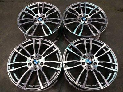 極新 BMW F32 19吋M版原廠鋁圈 E90 E92 F30 F32 F34 X1 X3 5/120