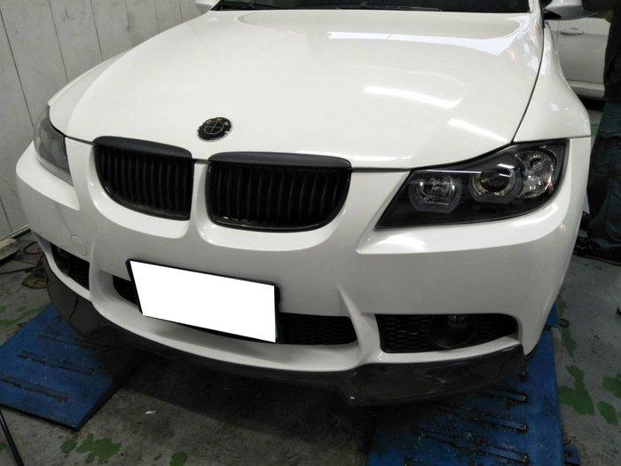 DJD19071523 BMW 寶馬 E90 CARBON 碳纖維 鼻頭 水箱護罩