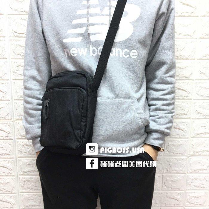 【豬豬老闆】 NIKE core small item 3.0 側背包 多功能小側包 黑色 BA5268-010