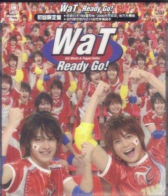 環球 Wat Ready Go !(初回限定盤) CD 全新 內有12頁寫真本 小池徹平 瑛士