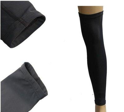 運動護腿 黑色Pro系列 籃球 足球 自行車 腳踏車 路跑 運動 護膝 登山球褲 單腳護腿 9分緊身褲 【R07】