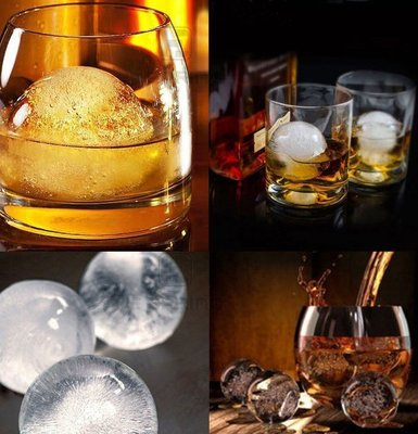 升級款六連冰球製冰盒/威士忌冰球製冰器/冰球製冰盒/ 威士忌必備/水信玄餅模具[H10-01]mama bao媽媽寶