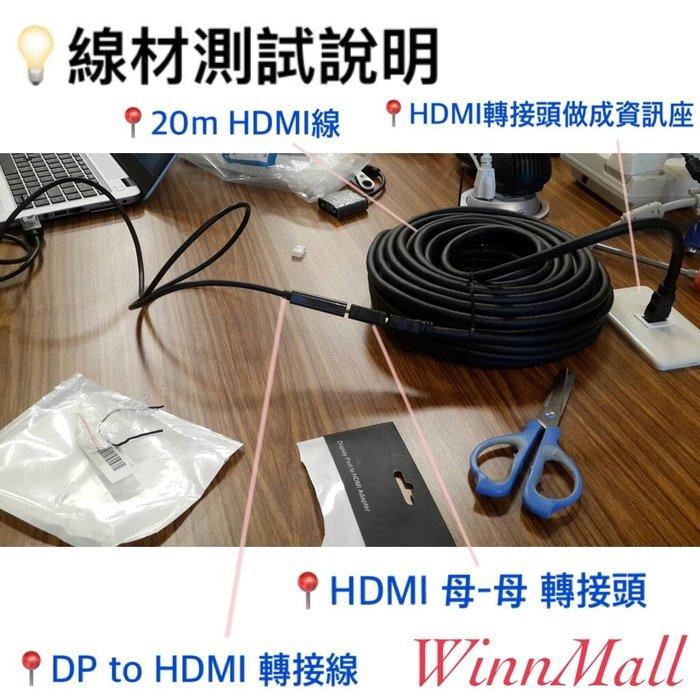 【WinnMall】線材測試說明
