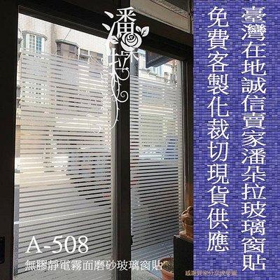 [潘朵拉時尚館]A-508無膠靜電玻璃窗貼 玻璃貼紙  隔熱紙 霧面毛玻璃  玻璃紙 免費裁切 辦公司輕隔間