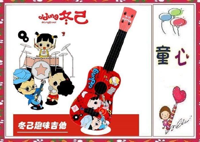 韓國冬己娃娃 烏克麗麗/小吉他玩具◎童心玩具1館◎