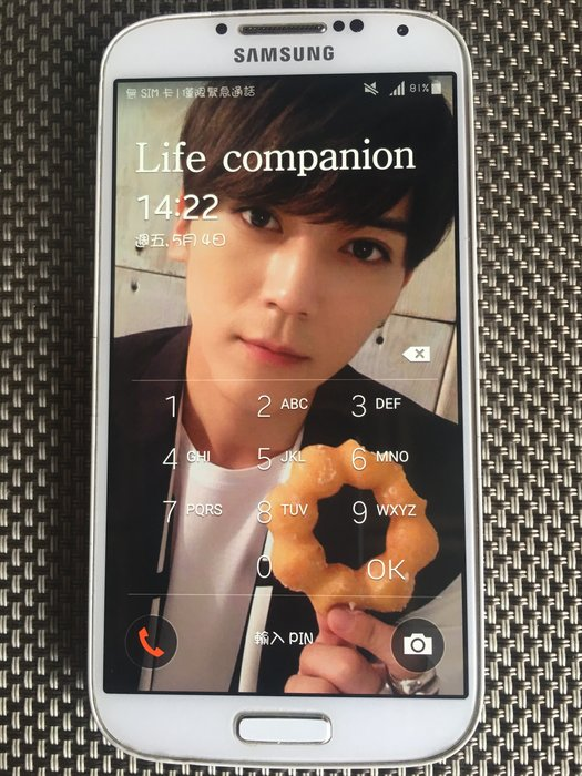 SAMSUNG S4  I9500 16G 智慧手機 1300萬畫素/雙四核/5吋二手