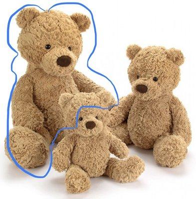 (預購7天寄出)(下標前請先詢問)英國 JELLY CAT  Bashful bumbly bear 57公分 熊熊🐻