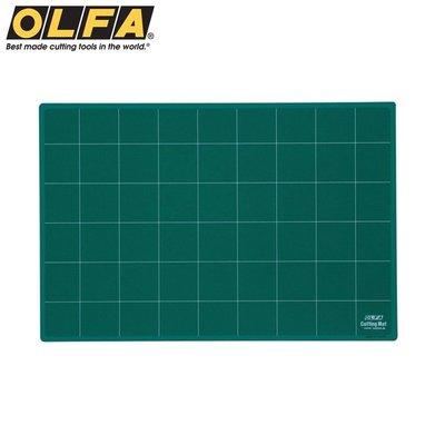 又敗家@日本OLFA八開切割墊NCM-S經典綠3mm厚裁墊A3切割墊4開裁墊裁墊切割布墊切墊子防滑墊板切割板專業切割墊板