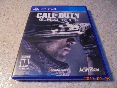 PS4 決勝時刻-魅影 Call of Duty Ghosts 英文版 直購價800元 桃園《蝦米小鋪》