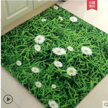免運 可開發票 地墊地毯門墊進門臥室門廳廚房衛生間門口地墊腳墊家用防滑墊子 『簡木家飾』
