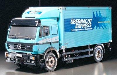 【TAMIYA 56307】1/14 MERCEDES-BENZ 賓士 1850L 箱型貨車 套件