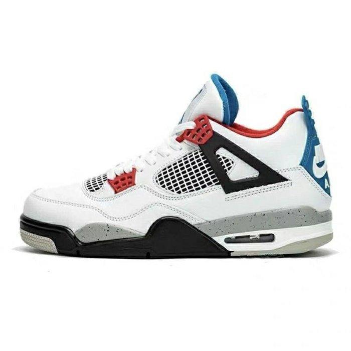 現貨- Air Jordan 4 SE  红蓝鸳鸯 aj4 篮球鞋 CI1184-146
