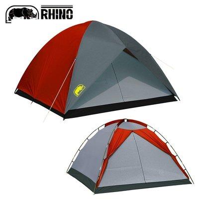 【大山野營】送鋁箔墊手電筒 台製 犀牛 RHINO A-8 八人豪華高頂城堡帳篷 露營帳篷 非LOGOS