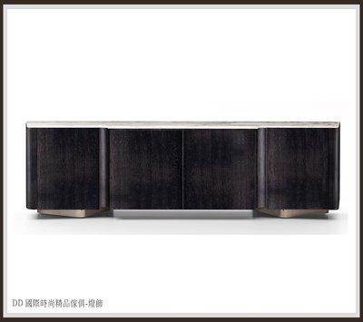DD 國際時尚精品傢俱-燈飾 MINOTTI Lou Sideboard TV柜 (復刻版)專業訂製木器類-櫃類到府組裝