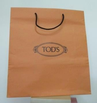 ~TOD'S 直式1 紙袋/提袋 41x45x14cm~