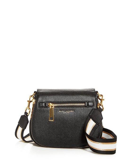 美國名牌Marc Jacobs Crossbody Bag專櫃款黑色皮革斜背包(小款)現貨在美特價$6280含郵