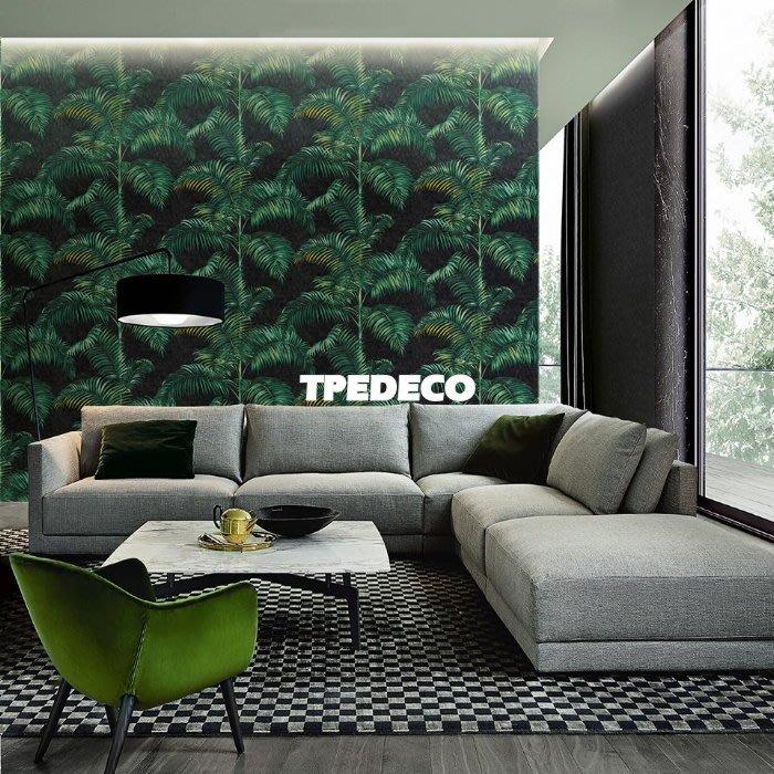 【大台北裝潢】TC義大利進口壁紙* 熱帶叢林 棕櫚葉(5色) 每支1900元