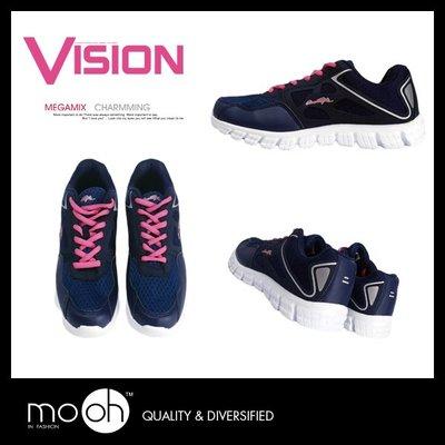 網布休閒鞋 歐美超輕量透氣多功能運動鞋 mo.oh (歐美鞋款)