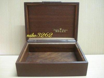 :: NiKo HoUsE ::【ROLEX 勞力士】原廠錶盒 / 咖啡色(4)