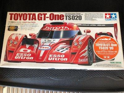 田宮1/10 電動TS020 平跑RC Car