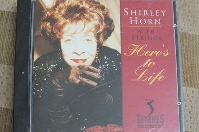 Shirley Horn with strings:here's to life-美版,無IFPI