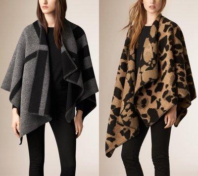 Burberry 羊毛 羊絨 Cashmere 圍巾 披肩 外套