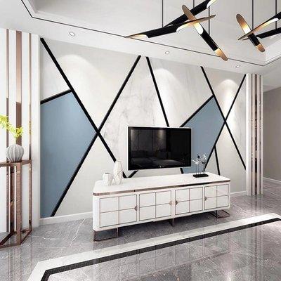 佩奇壁纸北歐2019電視背景墻壁紙現代簡約幾何裝飾壁畫客廳墻紙8D影視墻布小猪佩奇