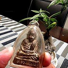 【 金王記拍寶網 】F1101 早期銅雕佛牌 銅雕佛 龍普托 龍婆托  包殼一尊 罕見稀少~