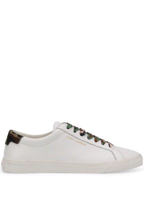 YSL 迷彩小白鞋 尺寸36 37 38 38.5 39 40 $14500/雙  (預購)東區正品專賣