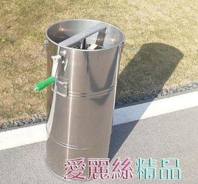 搖蜜機 搖蜜機304全不銹鋼加厚中蜂搖糖機小型家用蜂蜜分離機打蜜桶 LX 夏季新品