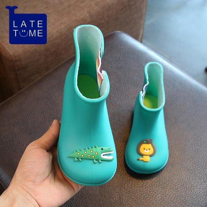 兒童雨鞋男女童寶寶雨靴防滑小童公主防水學生水靴嬰兒小孩水鞋套