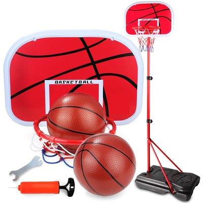 交換禮物 兒童籃球架可升降室內戶外落地式投籃架寶寶玩具男孩xw