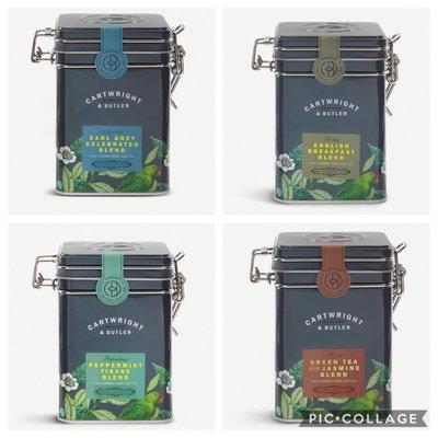 (預購7天寄出)(下標前請先詢問)英國Cartwright & Butler 四種口味茶葉loose leaf tea blend 100g