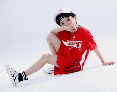 男童短袖套裝夏季兩件中大童新款兒童休閒運動服足球服童裝潮