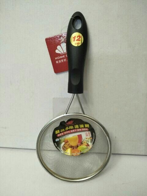 濾網 果汁網 油炸網 濾豆漿 304不鏽鋼 篩麵粉 濾果汁 12cm台灣製造 一入