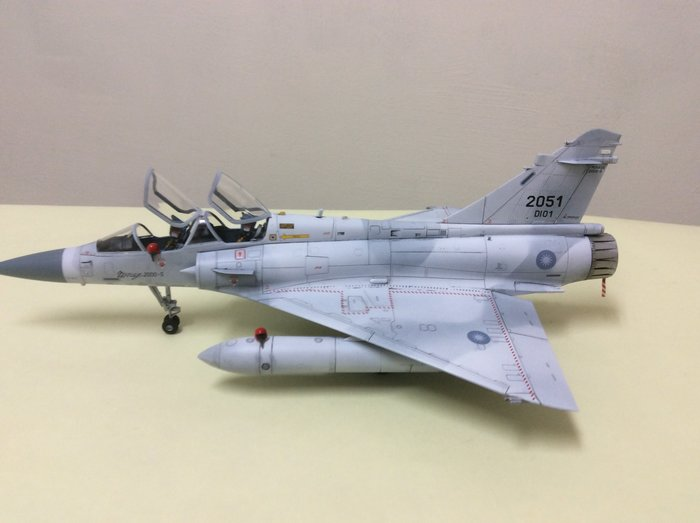 國軍幻象2000D型-雙座戰鬥機(專業