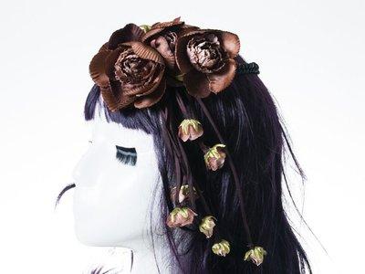[幸福二次方] 新娘花環頭環伴娘頭飾頭...